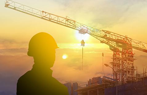 Construcción de obra, proyecto hidroeléctrico